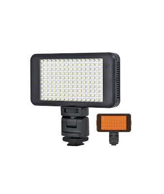 150-LED Professional Video Light w/ 2 x Filters + Cradle Head - Black