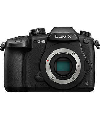 Panasonic LUMIX GH5 4K Mirrorless ILC Camera Body