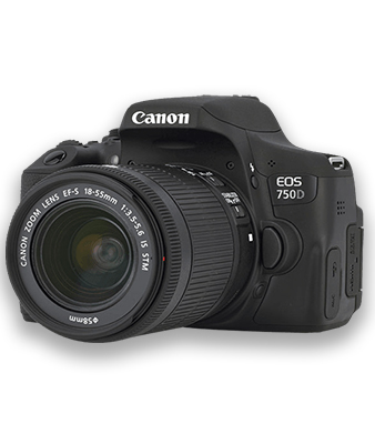 Canon 750d 18-55mm Kit