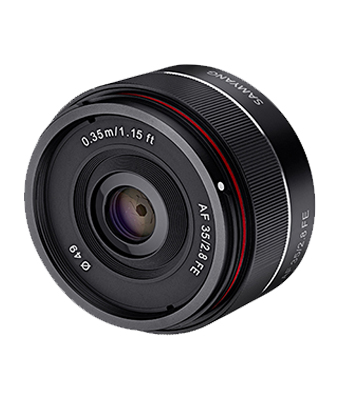 Samyang AF 35mm f/2.8 FE for Sony