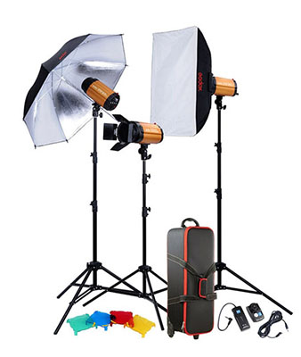 Godox Smart Studio flash Kit With 3 Heads