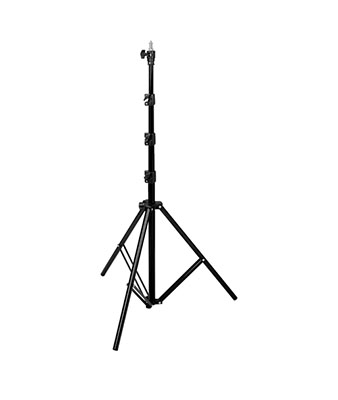 Visico Air Cushioned Light Stand Black LS8008 for Studio