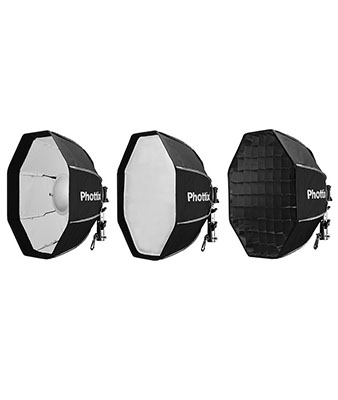 Phottix Spartan Beauty Dish (50cm and 70cm) Studio