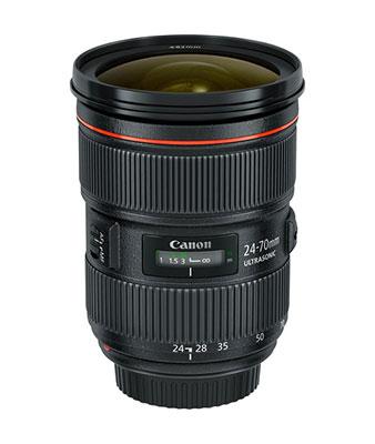 Canon EF 24-70mm f/2.8L II USM Lens