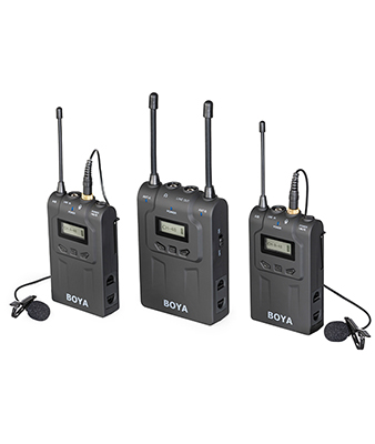 BOYA BY-WM8 Wireless Microphones