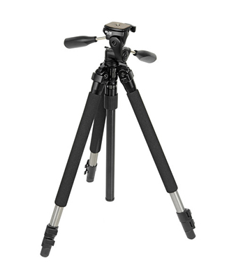 Slik Pro 330 DX Tripod with SH-705E 3-Way, Pan-and-Tilt Head