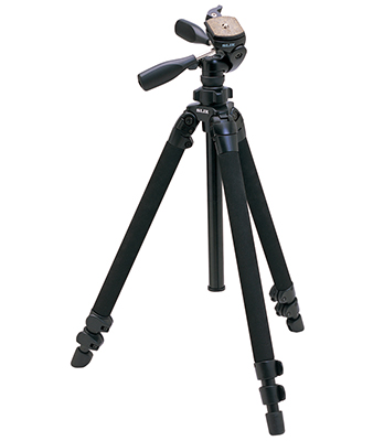 Slik Pro 400 DX Tripod with SH-705E 3-Way, Pan-and-Tilt Head