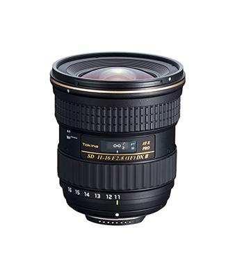 Tokina AT-X 11-16mm F2.8 PRO-II DX Lens