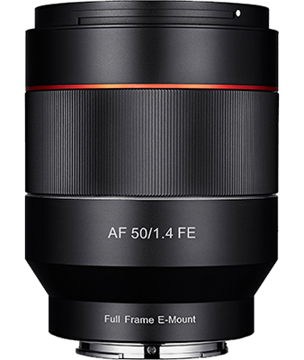 SAMYANG AF 50mm F1.4 FE Lens for Sony E-Mount