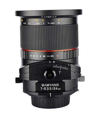 SAMYANG 24mm F3.5 ED AS UMC Tilt-Shift Lens