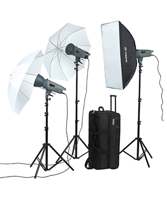 Visico VL-300 Studio Flash Creative Kit