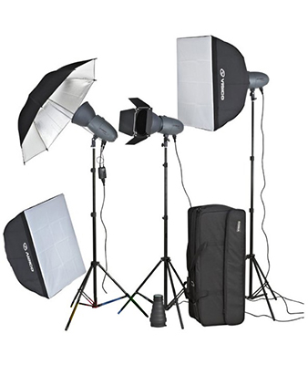 Visico 400W VL Plus Studio Lighting Kit
