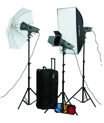 Visico Studio Flash VL PLUS Softbox/Barndoor kit
