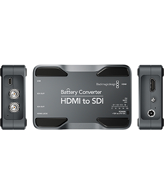 Blackmagic Design HDMI to SDI Battery Converter
