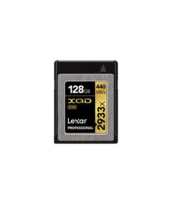 Lexar 128GB 2933x XQD 2.0 Memory Card