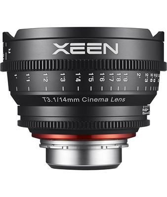 Samyang XEEN 14mm T3.1 Lens