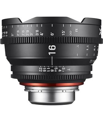 Samyang XEEN 16mm T2.6 Lens
