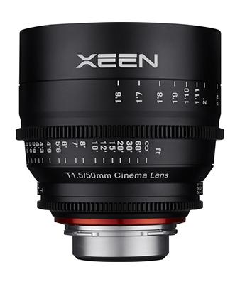 Samyang XEEN 50mm T1.5 Lens