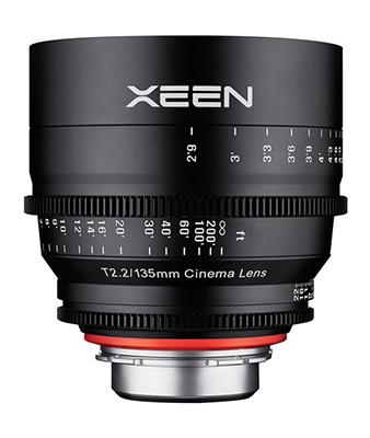 Samyang XEEN 135mm T2.2 Lens