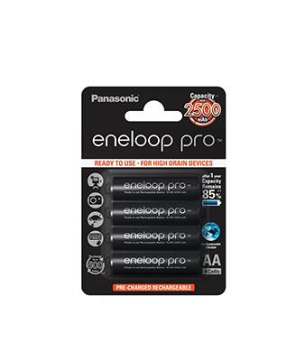 Eneloop Pro AA 2500 mAh 4 Blisterpack