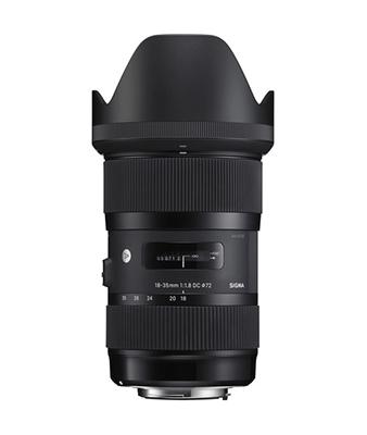 Sigma 18-35mm f/1.8 DC HSM Art Lens