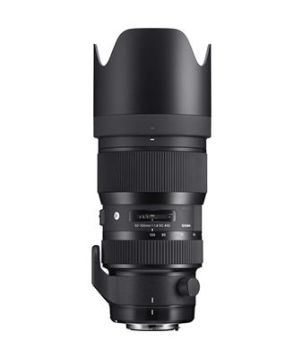 Sigma 50-100mm f/1.8 DC HSM Art Lens