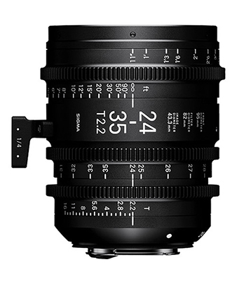Sigma 24-35mm T2.2 FF Zoom Lens