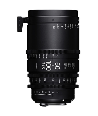 Sigma 50-100mm T2 Cine High-Speed Zoom Lens