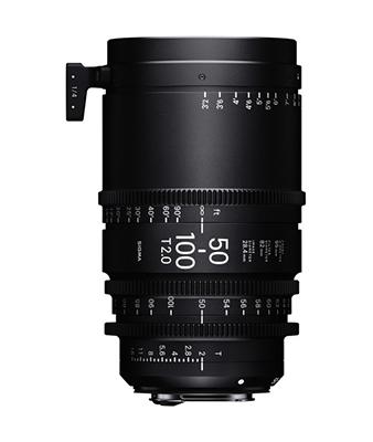 Sigma 50-100mm T2 Cine High-Speed Zoom Lens
