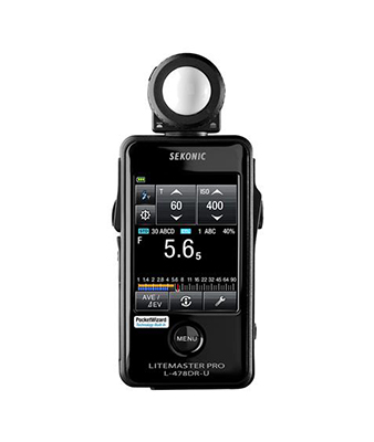Sekonic LiteMaster Pro L-478DR-U Light Meter for PocketWizard System