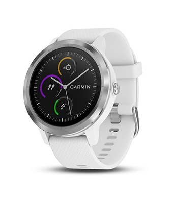 Garmin vivoactive 3 (White with Stainless Hardware)