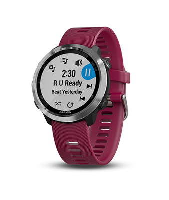 Garmin Forerunner 645 Music Sport Watch (Cerise)